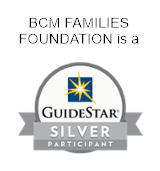BCM Families Foundation is a GuideStart silver partecipant