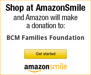 Amazon Smile for BCM Families Foundation