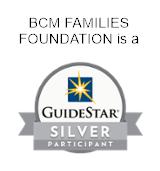 BCM Families Foundation is a GuideStart silver partecipant